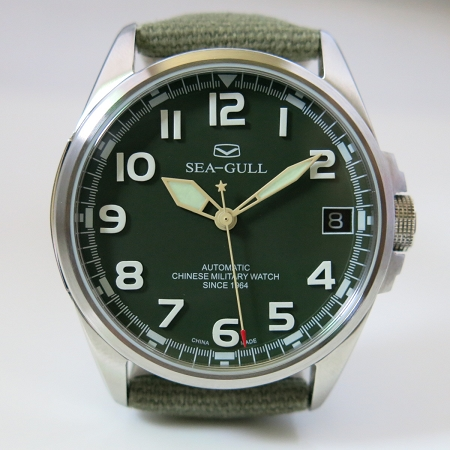 sea gull d813 581 no 1 army watch st2553 automatic