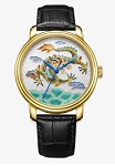 Enamel dragon watch BG950001 oriental culture series by Beijing watch factory limited edition 300 worldwide