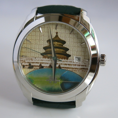 New Beijing Impression temple of heaven grand theater automatic wrist watch