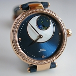 Blue sun moon automatic women's wristwatch (Beijing inspiration BL020006)