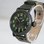 Green D301 reissue camouflage dial automatic wristwatch BG301008