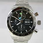 Aerospace automatic chronograph wristwatch presented by Fiyta GA8370