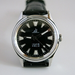 Black Shanghai Lao Luan mechanical watch similar to #114