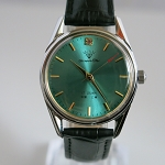 Fashionable green Shanghai diamond mechanical watch manual hand-winding