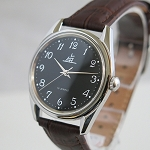 Black Shanghai Lao Luan Arabic numerals mechanical watch