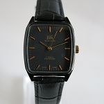 Square black dial Shanghai mechanical watch manual hand-winding