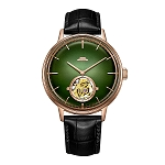 Emerald green tourbillon to celebrate 60th anniversary of BWAF, green (BG080008), blue (BG080007), black (BG080006)