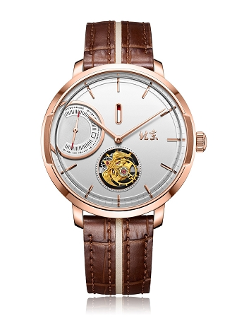 """A Stick of Incense"" tourbillon watch, ""mortise-and-tenon"" subject, BG081007, BG081008"