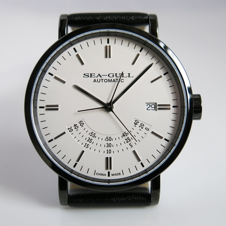 Sea-Gull 819.12.6047H automatic wristwatch Bauhaus design