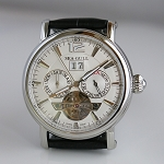 Sea-Gull M307S automatic wristwatch ST2525 big date & flying wheel