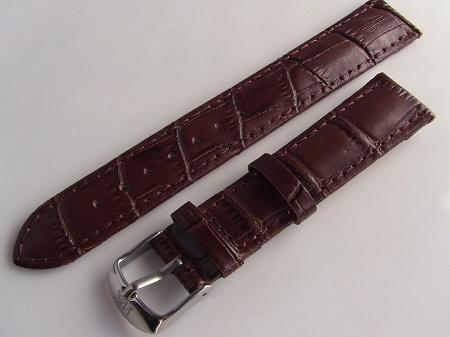 Shanghai 18mm leather band