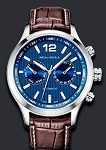 Sea-Gull dual time zone GMT automatic watch with weekday and date 819.17.5115