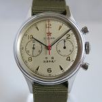 1963 reissue the 1st aviation chronograph of China airforce (sapphire)