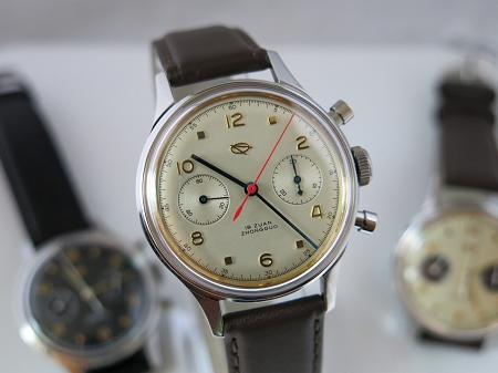 D304 reissue the 1st aviation chronograph of China airforce (yellow)