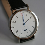 Smaller 35mm Bauhaus hand-winding mechanical watch Sea-Gull ST17 modified