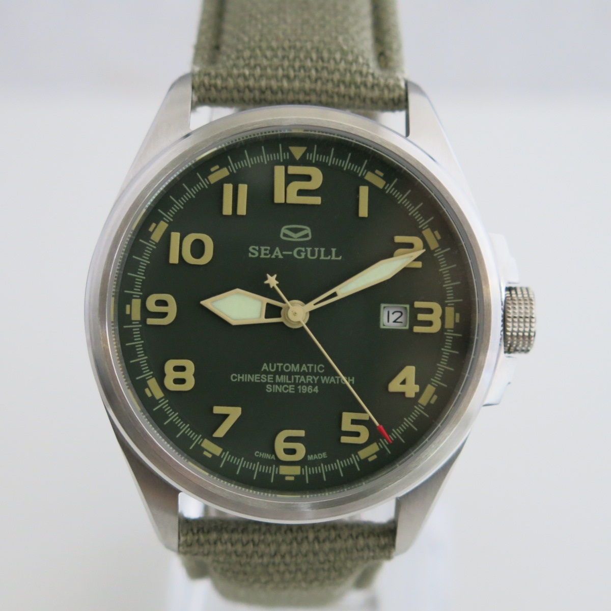 No.1 China army watch ST16 automatic by Sea-Gull