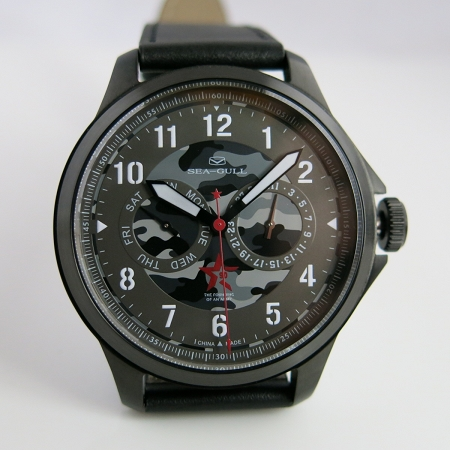 Sea-Gull R1927 army watch commemorating 90th anniversary founding of PLA limited edition