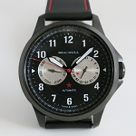 Sea-Gull 819.97.5103H automatic army watch, black case