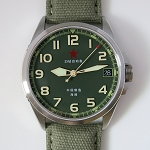 Classic Sea-Gull field watch co-designed by members, ST2553 automatic