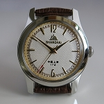 Classic Shanghai 611 reissue Big 12 & 6 hand-wound mechanical watch
