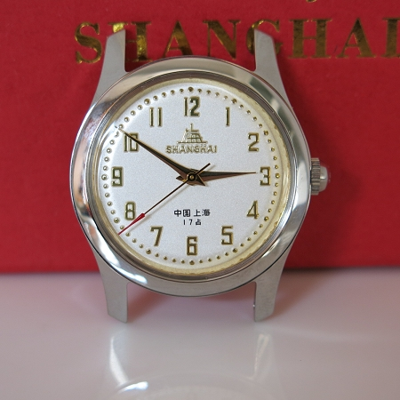 Classic Shanghai 611 reissue all digits hand-wound mechanical watch