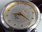 Classic Shanghai 611 reissue diamond pattern dial hand-winding mechanical watch