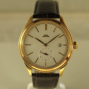 Golden Beihai collection BG010010 wristwatch B18 limited edition, white marble-textured dial