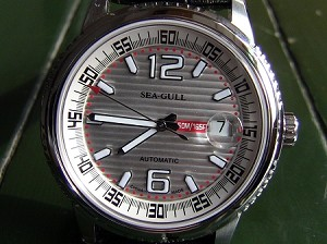 Charming Sea-Gull M306S automatic watch ST2130 high frequency 28800