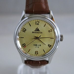 Sun flower Shanghai 1120 reissue wristwatch, manual hand-winding