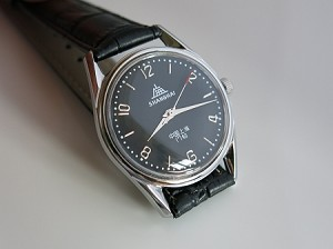 Black Shanghai 8120 designer wristwatch