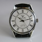 Shanghai Diamond Roman numeral hand-winding mechanical watch