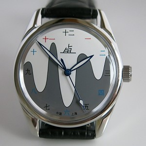 Fashionable Shanghai Jelly moon mechanical watch