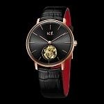 18K rose gold ultra-thin tourbillon to celebrate 60th anniversary of BWAF BG600001