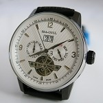 Sea-Gull 219.328 automatic wristwatch ST2525 big date & flying wheel