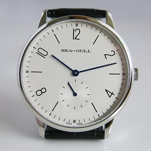 Sapphire Sea-Gull D819.612 hand-winding wrist watch thin design