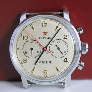 42mm Sea-Gull 1963 re-issue China Air Force 1st aviation chronograph