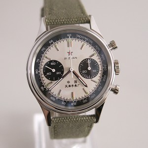 1963 reissue aviation chronograph with Tachymeter