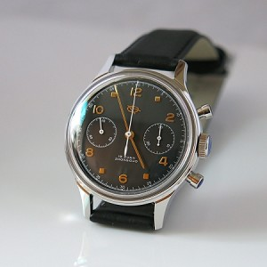 D304 reissue the 1st aviation chronograph of China airforce (black)