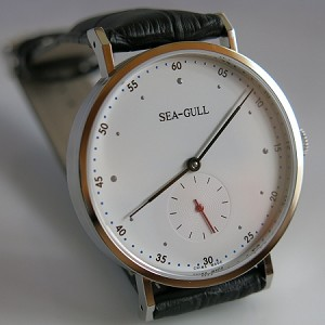 Sea-Gull automatic wrist watch ST17 Bauhaus edition 2016
