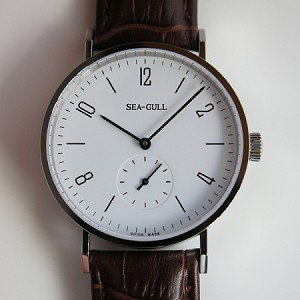 Classic Sea-Gull automatic wrist watch ST17 Bauhaus edition